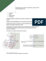 Analisis Geografico de Quetzaltenango
