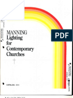 Manning Contemporary Church Lighting Catalog C11 5-88