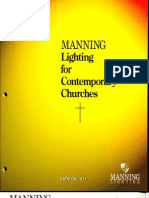 Manning Contemporary Church Lighting Catalog C11 1999
