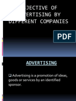 Objective of Advertising