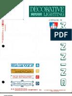 Manning Decorative Lighting Catalog M 10-72 Rev.