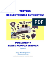 Tratado de Electrónica Automotriz-Volumen 1-Electrónica Básica-Capítulo II