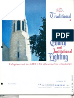 Manning Traditional Church & Institutional Lighting Catalog TC 1961