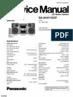 Panasonic SA-AK411