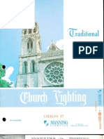 Manning Traditional Church Lighting Catalog T7 5-94