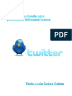 Twitter Como Fuente Para Periodistas Latinoamericanos