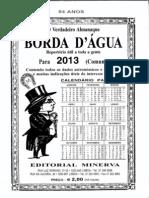 Borda dAgua 2013