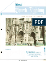 Manning Traditional Church Lighting Large Interiors Catalog TL2 1-94