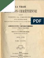 Em Swedenborg LA VRAIE RELIGION CHRETIENNE-7sur11-LeBoysDesGuays 1878