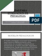Ayudas Para Evaluacion de Pedagogia