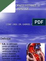 Valvulopatii Si Stenoze Aortice