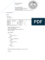 Ejemplos de Algoritmos II