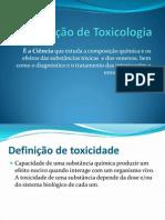 Aplicação dos testes de Toxicidade