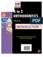 A to z Orthodontics Vol 1 Introduction