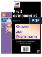 A to z Orthodontics Vol 2 Growth and Development
