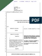 How One California Homeowner is Using the Glaski appeal decision - Davies 9th RJN Glaski v. BAC