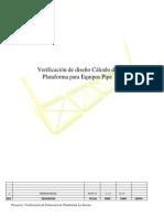 Verficación Plataforma la Serena. REV A