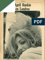 April Ruskin en Londres Caballero Julio 1966