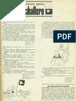 Humor Caballero Julio 1966