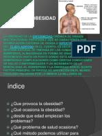 La obesidad es la enfermedad crónica de origen