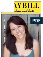 Playbill MindyStover ForWeb