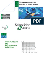 Sistemas de Proteccion Electrica en MT