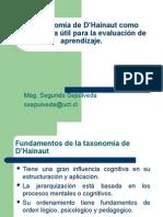 La Taxonomia de D Hainaut Como Herramienta Util Para