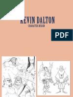 Kevin Dalton Character Design