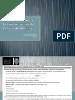 Implementación y Estandarizacion de Clinica de Heridas