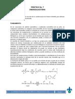 Practica 7 Dibenzalacetona