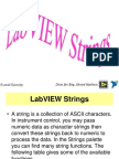 LabVIEW Strings