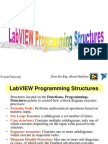 LabVIEW Programming Structures
