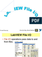 Labview File Io
