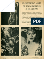 El Refinado Arte de Escandalizar a La Gente Caballero Agosto 1966