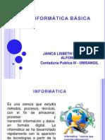 INFORMÁTICA BÁSICA- LISBETH
