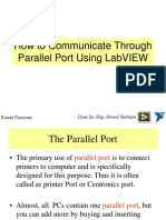 How to Communicate With Parallel Port
