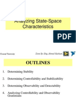 6- Analyzing State-Space Characteristic