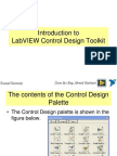 1- Introduction to Introduction to Control Design Toolkit