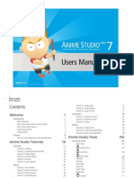 Anime Studio Debut 7 Users Manual