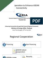 Enhancing Connectivity_ ERIA 19Jul2013