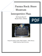 Skyline Farms Rock Store Museum Interpretive Plan