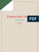 Primary Bone Tumors