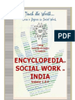 Encyclopedia of Social Work in India Volume 1