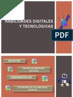 Habilidades digitales y tecnológicas