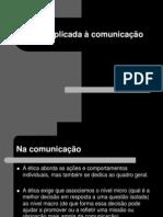 Aula 1 - Ética aplicada a comunicação