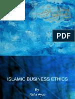 Islamic Business Ethics