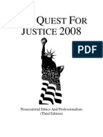 Quest for Justice 2008