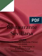 Restaurante Sevillana.ppt