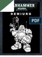 Demiurg Codex