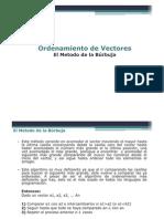 IIS202-OrdenamientoVectores